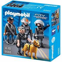 Playmobil Polícia Equipe Tática