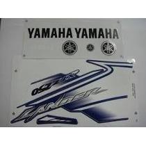 Jogo Faixa Adesivo Yamaha Lander Xtz 250 2007 Azul