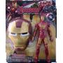 Coleção Vingadores Boneco + Mascara Homem De Ferro