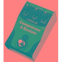 Ritmus ! Landscape Cst1 Compressor & Sustain Pedal Guitarra