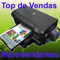 Hp 8100 Impressora Com Wifi Bulkink Corante 400ml