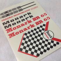 Adesivo Bicicleta Antiga Monark Br 1965 - Frete Grátis