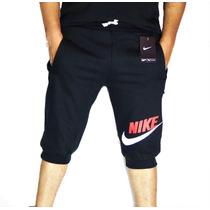 Bermuda Saruel Moletom Nike Korova Shorts Calça Nike New Era