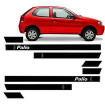 Friso Lateral Palio 2001 2002 2003 2004 4p Kit 8pcs