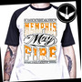Camiseta Memphis May Fire Raglan Baby Look Rock Banda