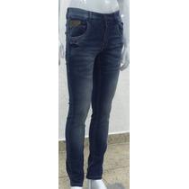 Calça Jeans Masculina Slin Lycra 36 Ao 46 Caimento Excelente