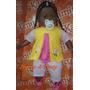Boneca Negra Bebê Tre-lê-lê (51cm)