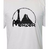 Camiseta Mordor - O Senhor Dos Anéis - O Hobbit