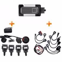 Scanner Diesel Automotivo Universal Obd2 Bluetooth 19 Cabos