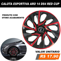 Calota Esportiva Aro 14 Apollo Monza Vectra Logus Pointer