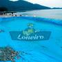 Lona Plastica Azul 6x3 Lago Piscina Peixe Cisterna 350micras