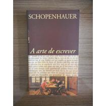 Livro A Arte De Escrever Arthur Schopenhauer