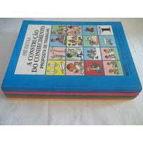 Coleção A Construção Do Conhecimento Pre Escola - 5 Vol