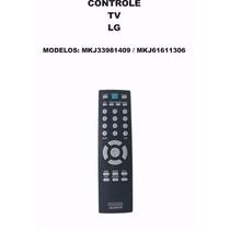 Controle Remoto Tv Monitor Lg Mkj33981409 Mkj61611306