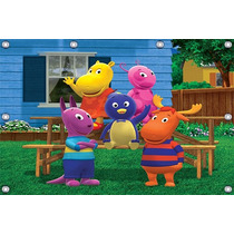 Backyardigans - 2,50 X 1,50m Painel Infantil Decorativo