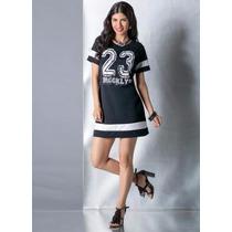 Vestido Modelo Esportivo Curto Feminino - Lindo!!! Cores!!!