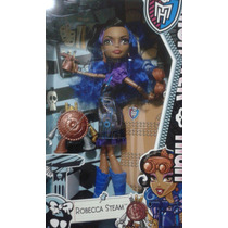 Boneca Robecca Steam Monster High Aula De Arte