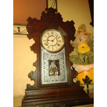 Incrível Relógio Ansonia Buffalo Mantel Clock- New York/1894