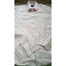 Camisa Rosa Brooksfield Masculina 43 Ótimo Estado Italiana