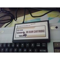 Antigo E Raro Cartucho De Memoria Commodore Vic 1110