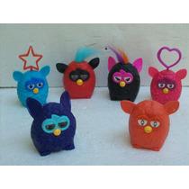 Brinquedo Antigo Mc Donald Coleção De Furby C/6 Bonecos