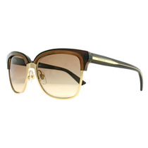 Óculos De Sol Feminino Gucci Gg 4246/s 015t Dourado / Marrom