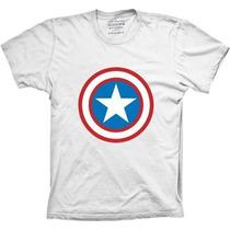 Camisa Super Eroi Capitão America