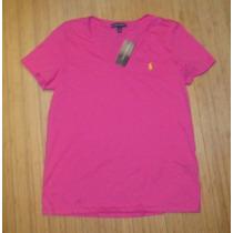 Blusa Básica Polo Ralph Lauren: Tamanho G / L Feminina Nova