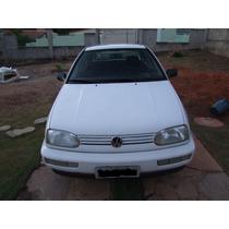 Volkswagem, Golf 97/97 Motor 1.8 Mi Branco 5 Portas 2º Dono