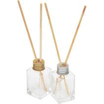 30 Frascos Difusor Aromatizador De 30ml Em Vidro Com Vareta