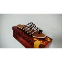 Sandalia Rasteirinha Strass - Sapato Direto Da Fábrica