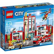 Lego City 60110 Quartel Dos Bombeiros 919 Peças