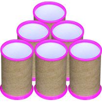50 Porta Lápis, Porta Caneta Para Personalizar, Pink