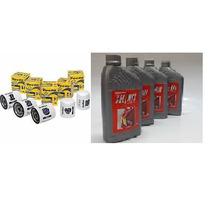 Kit 04 Litros Óleo Motor Selènia K 15w40 Semi-sintético