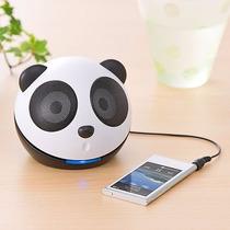 Caixa Som Portátil Mini Panda 4w Rms Pc Smartphone