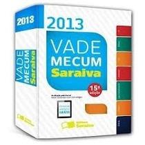Livro Vade Mecum Novo 2013 Editora Saraiva Custo Do Livro
