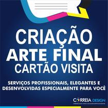 Criar Arte Final Cartão De Visita Criação De Banner Panfleto