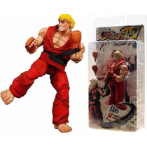 Boneco Street Fighter Ken Da Neca - A Pronta Entrega