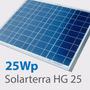 Painel Solar Fotovoltaico 25wp Hg25 / Fabricante Solarterra
