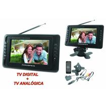 Tv Portatil Digital E Analogica 7 Polegadas Powerpack 786