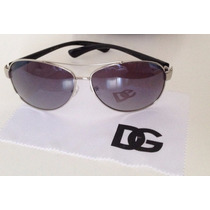 D G Oculos De Sol Aviador Classico Feminino Dg Original