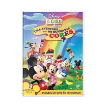 Dvd A Casa Do Mickey Mouse: Uma Aventura No Mundo Das Cores