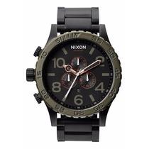 Relógio Nixon The 51-30 Chrono Carbono Frete Gratis