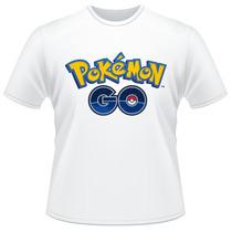Camiseta Infantil Pokemon Go Jogo Anime Desenho Camisa