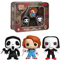 Ghost Face - Chucky - Billy Puppet - Horror Pocket Pop Funko