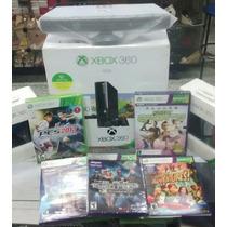 Xbox 360 500gb+70 Jogos No Hd Leia Descrição! Kinect Brinde