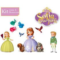 Princesas Sofia Amber James E Turma Brinquedo Boneca Disney