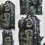Mochila Camuflada Padrão Militar Exército