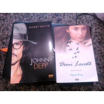 Livros Johnny Depp + Demi Lovato