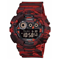Relógio Casio G-shock Gd-120cm-4dr - Garantia Casio Brasil